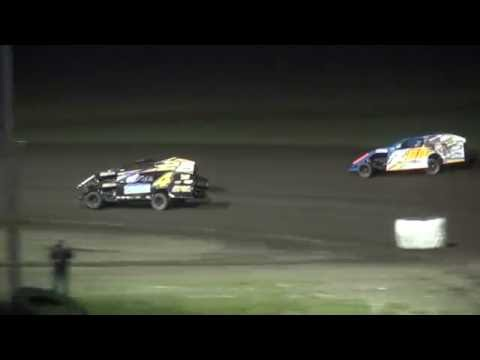 IMCA Modified Championship feature Benton County Speedway 9/18/16