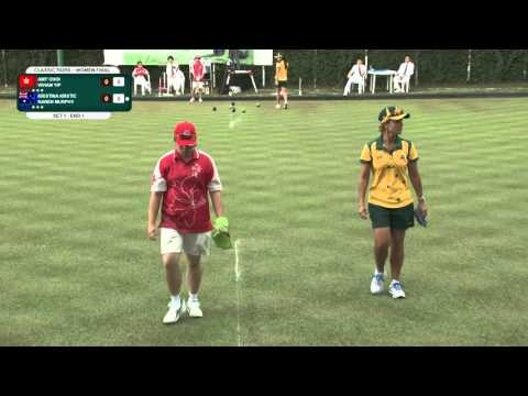 Hong Kong International Bowls Classic Women Pairs Final