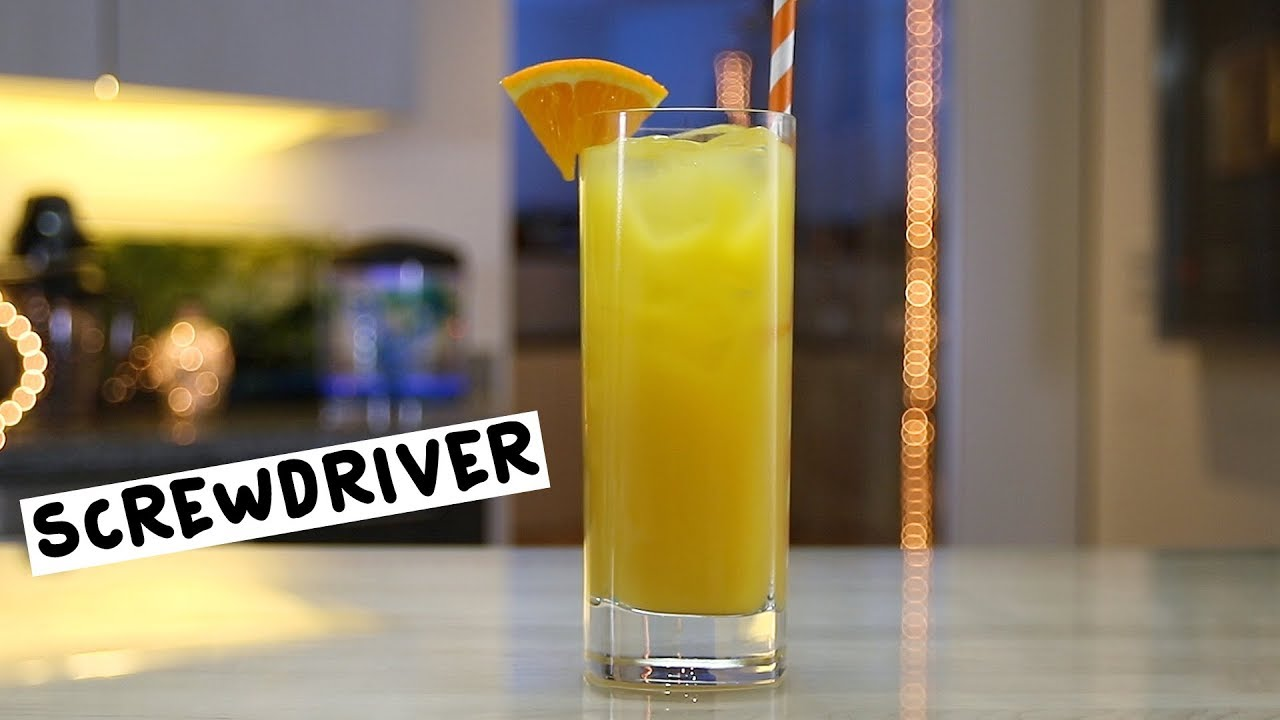 Screwdriver - Tipsy Bartender