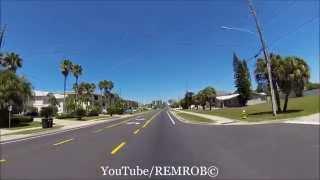 Driving Belleair Shores / Beach, Florida