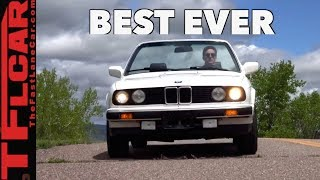 This 32-Year-Old BMW 325i (E30) Is One of The Best BMW's Ever Made!