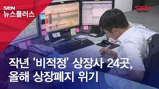 작년 '비적정' 상장사 24곳, 올해 상장폐지 위기