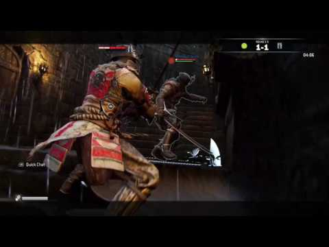 Some For Honor executions are a little too brutal for my taste..