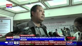 Rekap Data Pemilih Bermasalah di 5 Provinsi
