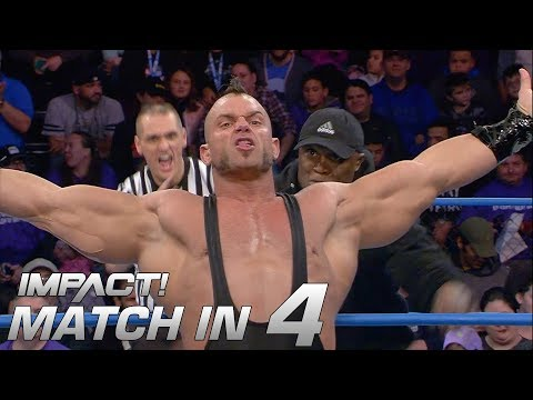 Brian Cage vs Bobby Lashley 2: Match in 4 | IMPACT! Highlights Apr. 5 2018