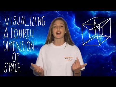 If fourth dimension is true, how could one draw the fourth ...