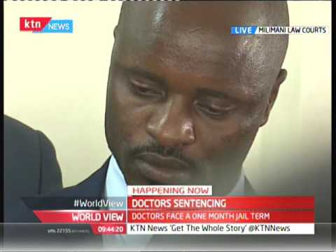 KMPDU Officials finally get their month in jail after Industrial court judge drops the hammer