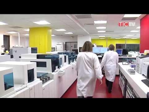 La plate-forme de Diagnostic Biologique Automatisé (DBA) - Hôpital Saint-Louis