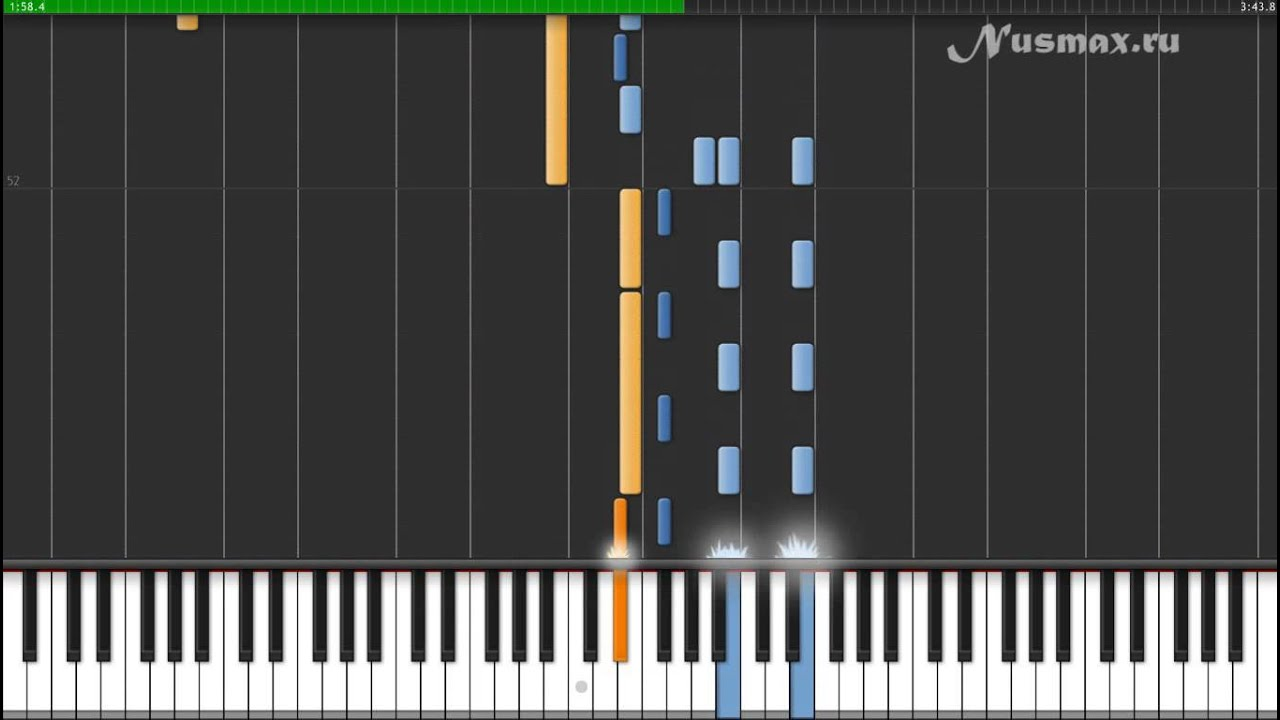 Celine Dion - My Heart Will Go On (OST Titanic) (Synthesia + Sheets + MIDI)