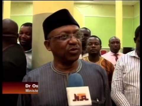 Health Minister Visits University of Benin Teaching  Hospital.