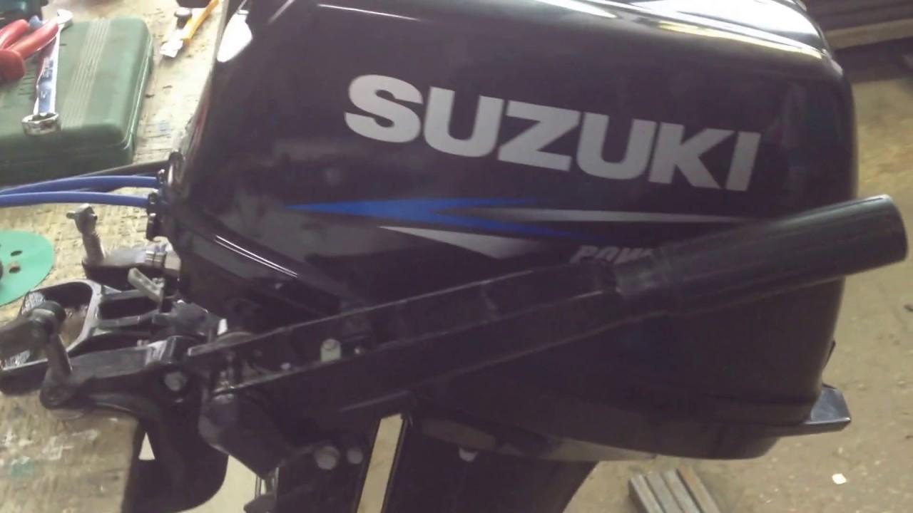 Сузуки (Suzuki)-30 И ещё один адцкый перегрев! - YouTube