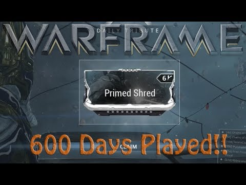 warframe how to get shred