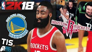 Houston Rockets - Golden State Warriors | 25/5/18 - NBA 2K18