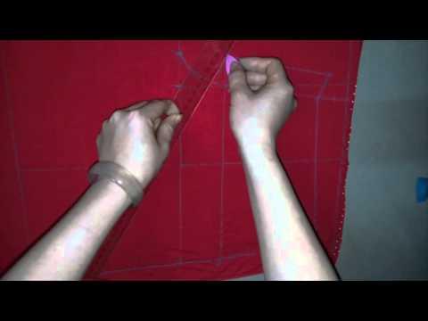 Cách cắt và may quần đùi nữ cạp chun(Phần 1)_How to cut and sew a short (part1)