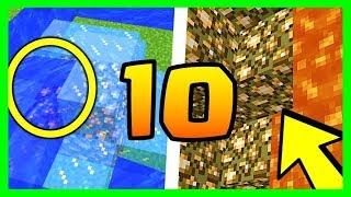 10 SECRETS QUE TU NE SAVAIS PAS SUR LA GLOWSTONE MINECRAFT 1.14