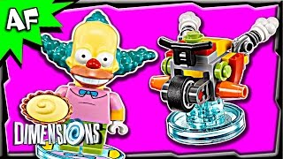 Lego Dimensions Simpsons KRUSTY the Clown Fun Pack 3-in-1 Build Review 71227