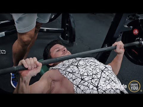 UPPER BODY Workout - Day 3 - Tom Coleman, Justin St Paul, Felix Valentino - LONDON ROUTINE