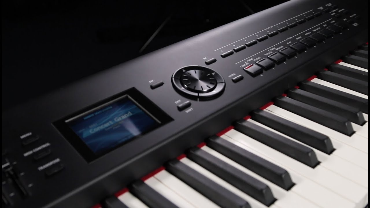 performing on stage with the roland rd 800 stage piano overview youtube