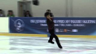 17 Shu NAKAMURA (JPN) - ISU JGP Istanbul 2012 Junior Men Free Skating.