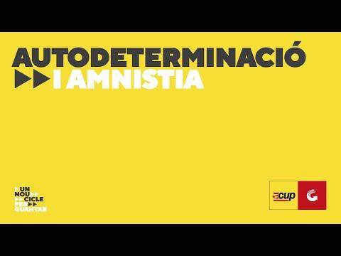 Acte - Autodeterminació i Amnistia