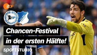 Arminia Bielefeld – TSG Hoffenheim Highlights   Bundesliga, 5. Spieltag   sportstudio