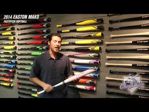CheapBats.com 2014 Easton MAKO Fastpitch Softball Bat FP14MK