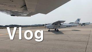 [VLOG] 한서대학교 항공운항학과 오랜만의 일상, 비…