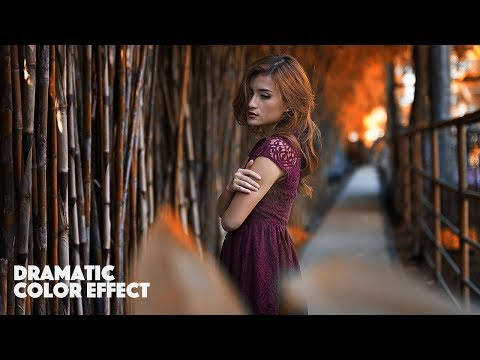 Dramatic Color Effect Photoshop Tutorials