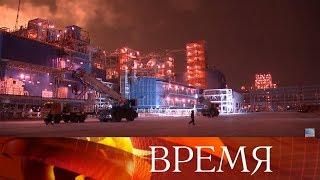 Владимир Путин дал старт отгрузке первой партии сжиженного газа на предприятии «Ямал СПГ».