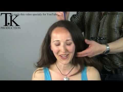 Experience the feeling off cutting long hair short! Rodica by Theo Knoop Travel Video