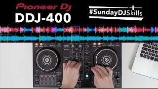Pioneer DDJ 400 Performance - Trap, EDM & House Mix - #SundayDJSkills