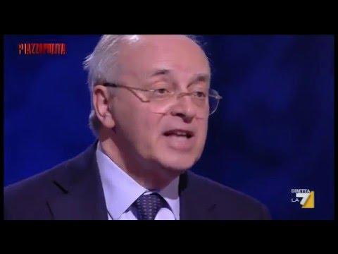 Davigo, intervistato a Piazzapulita, spara a zero sulla politica. 16.05.2016