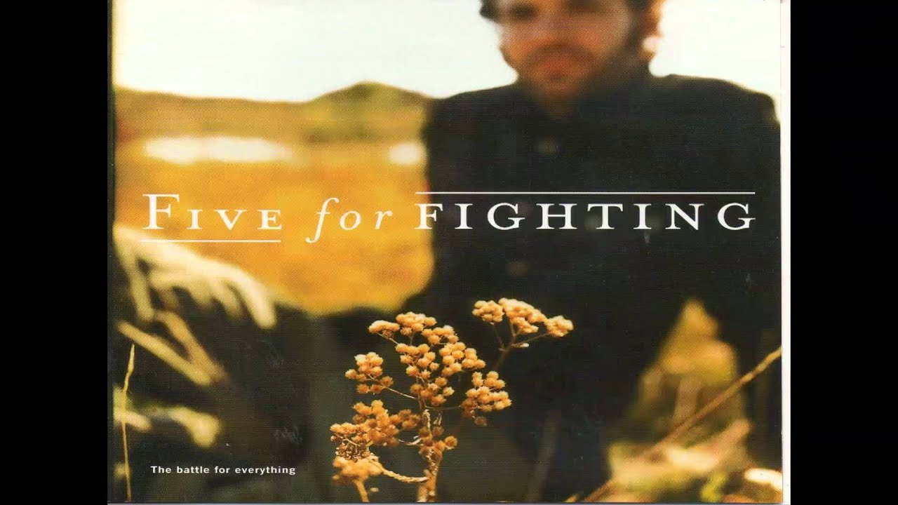 an analysis of 100 years by five for fighting Interview with john ondrasik of five for fighting about writing songs  five for  fighting has had a string of hits, including '100 years' from the.