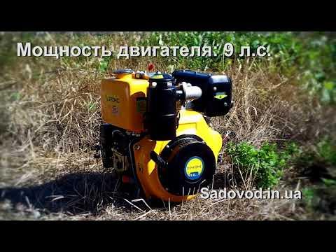 Дизельный двигатель Sadko DE-410 ME (9 л.с.) обзор