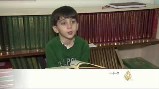 فيديو.. مبنى مهجور بأنقرة يتحول لمركز تعليمي للاجئين السوريين