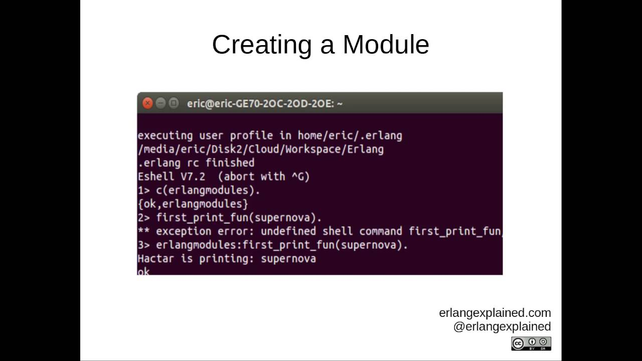 Eric Eikrem & Co  - Erlang 2: Modules