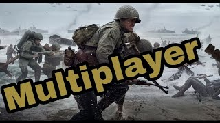 CALL OF DUTY WW2 : First Multiplayer Ever !!