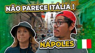 Conhecendo o centro de Napoli   É tudo muito diferente aqui 😮