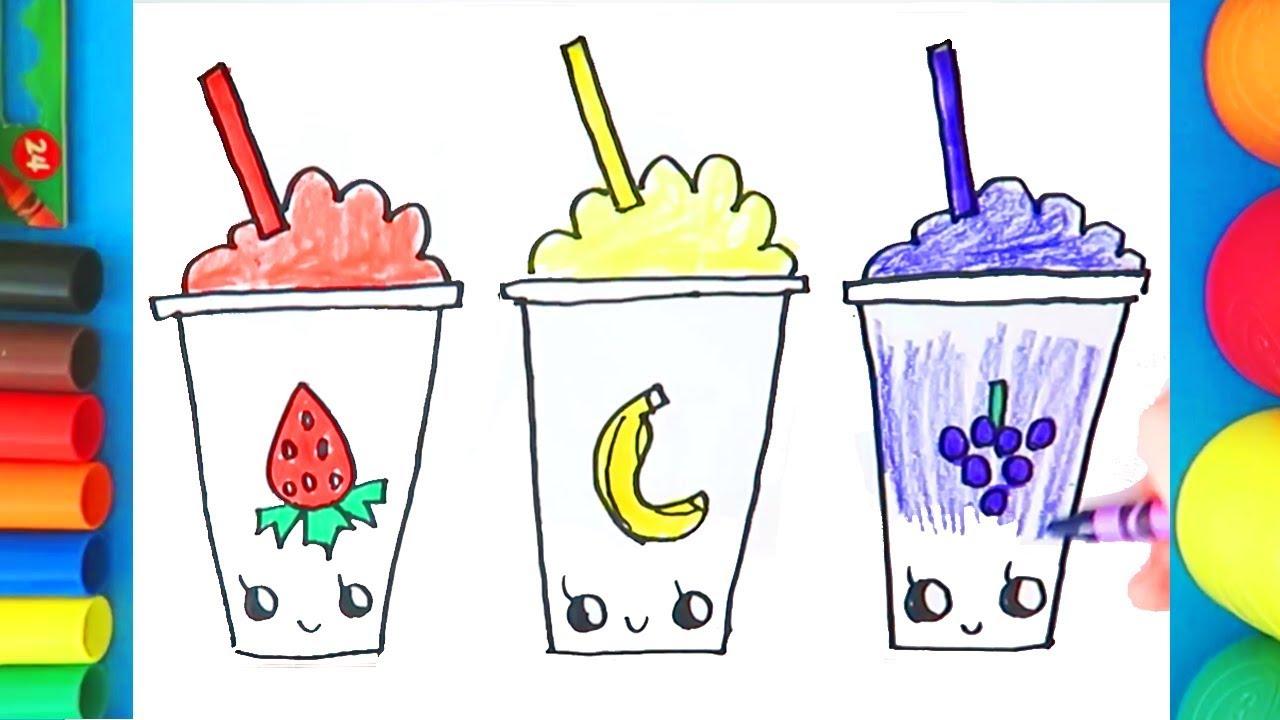 slushies coloring pages - photo#18
