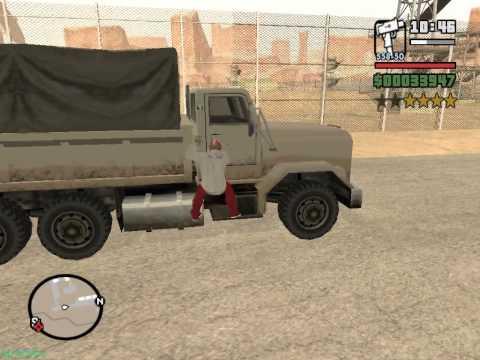 GTA San Andreas - Проникновение на военную базу