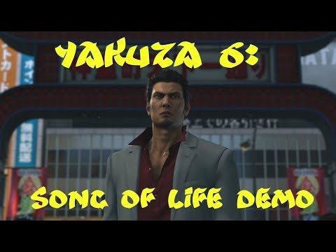 YAKUZA 6: THE SONG OF LIFE DEMO - PROLOGUE/CHAPTER 1 FULL