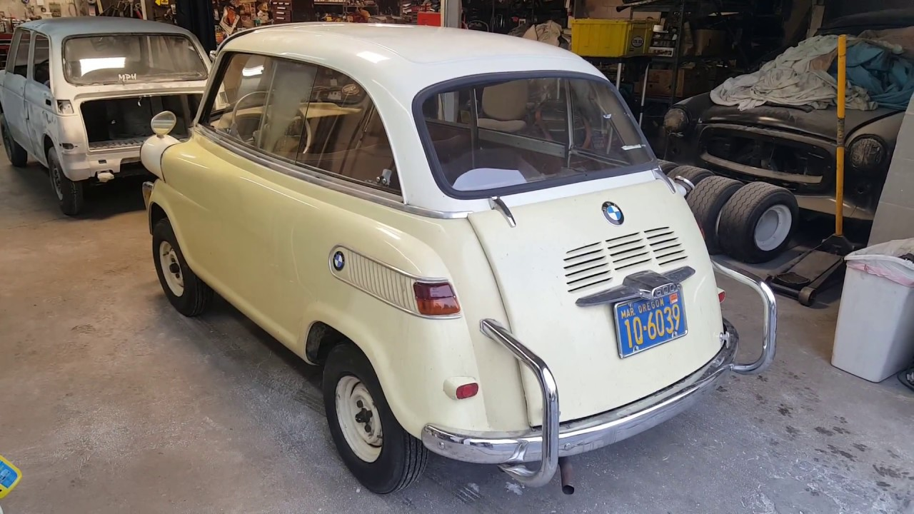 1959 bmw 600 isetta limo another mechanical restoration. Black Bedroom Furniture Sets. Home Design Ideas