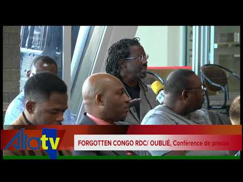 RDC OUBLIÉ: Conférence de presse à Edmonton, Canada