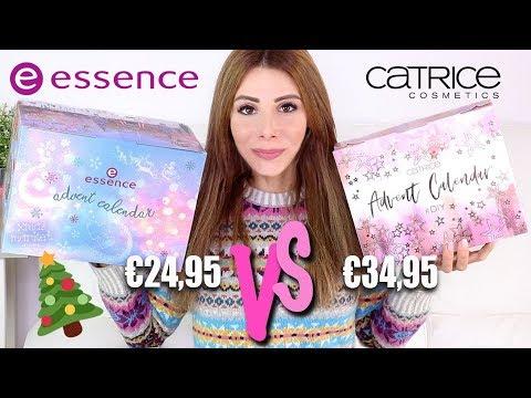 7ef3e938755 SFIDA TRA CALENDARI DELL' AVVENTO - ESSENCE vs CATRICE 🎁✂ APRIAMOLI  INSIEME !!!