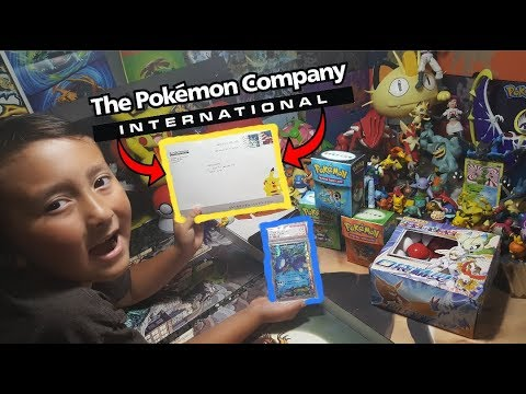 The POKEMON COMPANY SENT US FANMAIL! They Watch Our Channel! Opening Vintage & Graded Pokemon Cards