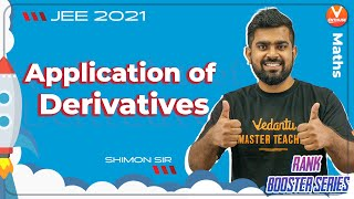 Application of Derivatives JEE | Rank Booster 🚀 | JEE 2021 | JEE Maths | Vedantu JEE Enthuse English