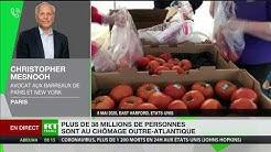 Chômage aux Etats-Unis : «Un cataclysme économique», estime Christopher Mesnooh