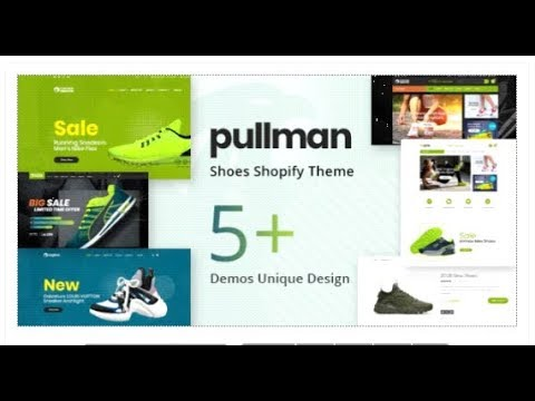 Pullman – Shoes Store Shopify Theme | Themeforest Templates