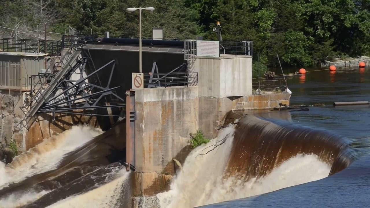 St. Croix River and St. Croix Falls Dam July 13, 2016 ...