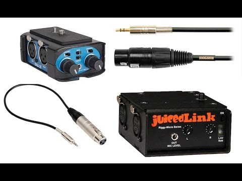 Xlr Audio Into 35mm 18th Mic Input Jack Youtube